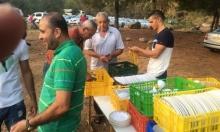 إفطار جماعي في ميعار المهجرة