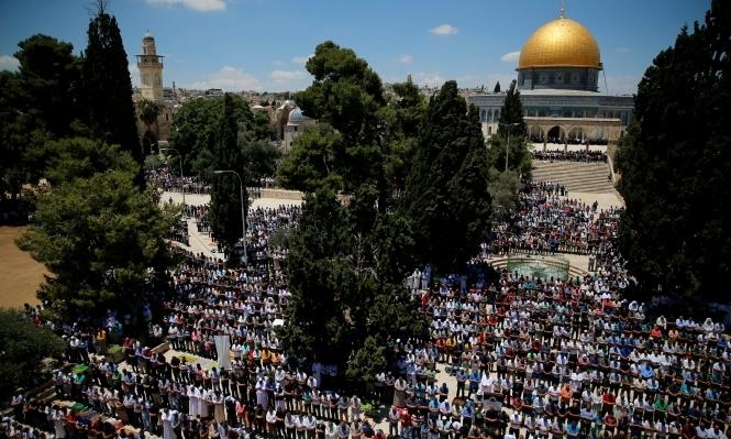 280 ألفا أدوا صلاة الجمعة الأخيرة من رمضان في الأقصى