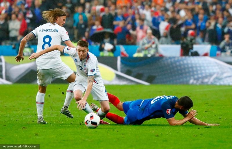 يورو 2016: فرنسا تحجز المقعد الأخير بالمربع الذهبي