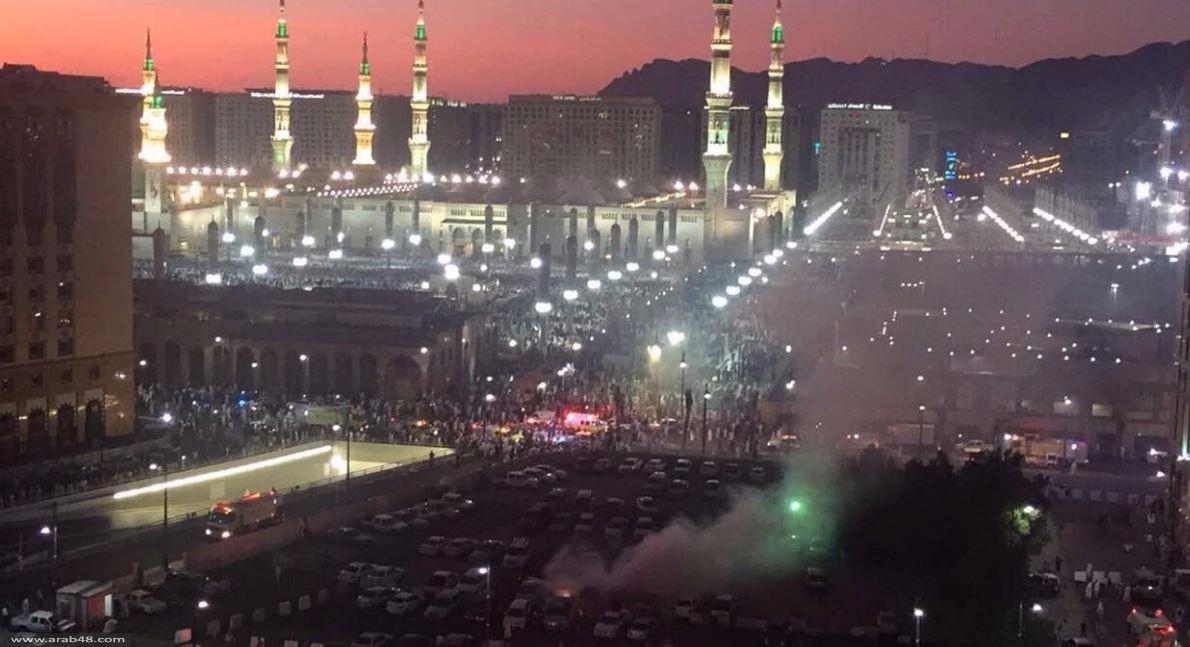 المدينة المنورة: 7 قتلى في تفجير انتحاري قرب الحرم النبوي الشريف