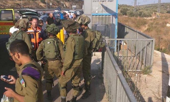"""إطلاق نار على فلسطينية بزعم محاولة طعن قرب مستوطنة """"أريئيل"""""""