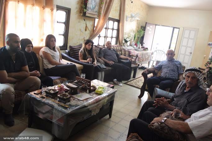الناصرة: زيارة لأضرحة الشهداء وذويهم في أول أيام العيد