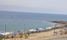 انتشال عربي غرق في البحر الميت
