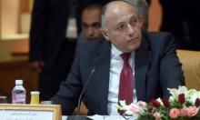 وزير خارجية مصر يصل إسرائيل للقاء نتنياهو