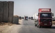 شاحنات مساعدات غذائية تدخل قطاع غزة