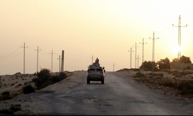 وسط سيناء: مقتل اثنين من قوات الأمن المصرية