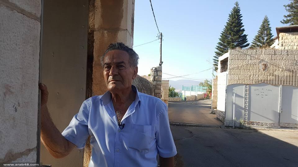 أبو عرب يروي ذكرياته على نبع القسطل في صفورية