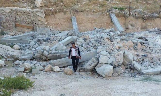 القدس المحتلة: قوات الاحتلال تهدم 3 منازل بجبل المكبر