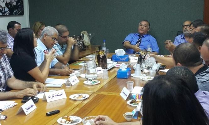 الناصرة: علي سلام يفض اجتماع المجلس البلدي