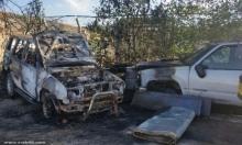 يافة الناصرة: إرهابيون يهود أحرقوا سيارات وخطوا شعارات عنصرية