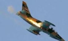 """المرصد: """"داعش"""" أسقط طائرة حربية بسورية وقتل قائدها"""