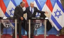 شكري في إسرائيل: أوجه التطبيع المتنامي وسقف الدور المصري