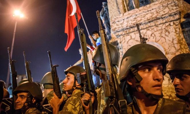 أول رد فعل إسرائيلي على الانقلاب الفاشل في تركيا