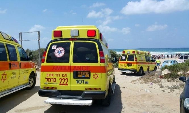 حيفا: مصرع شاب من جنين غرقا في أحد الشواطئ