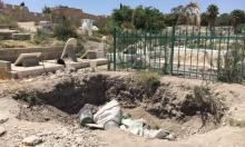 القدس المحتلة: اعتداء على مقبرة الأسباط