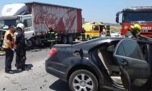 مصرع إبراهيم زعبي من الناعورة في حادث سير