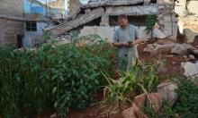 بستان عائلة القطماوي بحلب يقيها من الجوع وسط الحصار