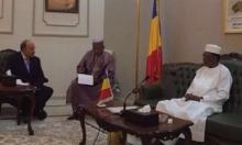 غولد يلتقي رئيس تشاد ويبحث استئناف العلاقات الدبلوماسية