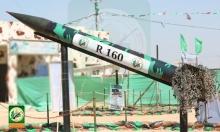 كتائب القسام تعرض أسلحة استخدمتها ضد إسرائيل