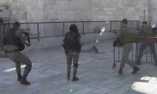 """""""ماحاش"""" يغلق التحقيق ضد أفراد شرطة أعدموا فلسطينيا جريحا"""