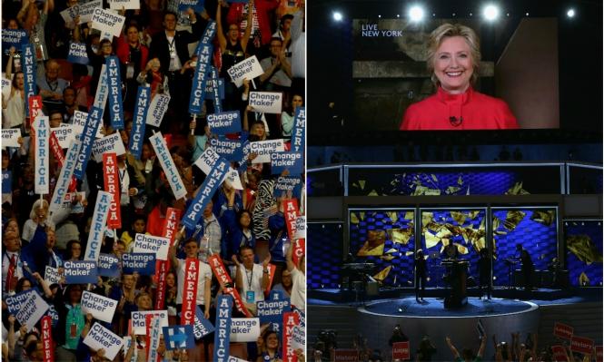 كلينتون... أول امرأة تخوض سباق الرئاسة بتاريخ أميركا