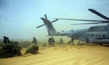 الجيش الإسرائيلي والمارينز تدربوا سرا في النقب