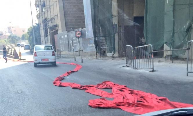 أطول سجادة حمراء بالعالم... ممزقة في بيروت