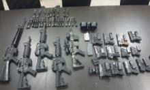 ضبط كميات من الأسلحة في الناصرة والشمال