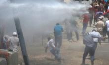 حوارة: عشرات الإصابات بالاختناق خلال مسيرة تضامن مع الأسرى