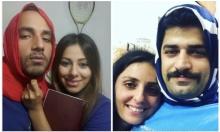 إيرانيون يتضامنون مع زوجاتهم بارتداء الحجاب