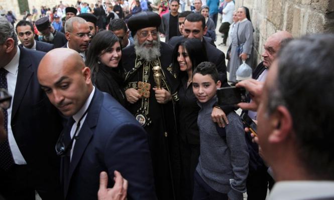 الثلاثاء المقبل: وفد كنسي مصري يزور القدس المحتلة