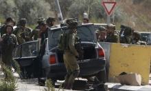 """قوات الاحتلال تعدم فلسطينيًا """"أثار الشبهات"""" قرب نابلس"""