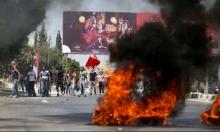 نابلس: إصابة شابين خلال مواجهات مع الاحتلال