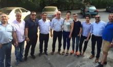 رجل أعمال فلسطيني يستضيف إدارة الأخاء في صوفيا