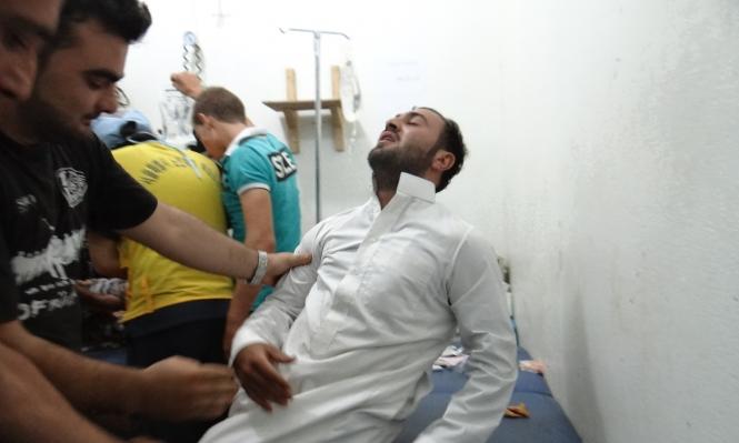 سورية: 10 إصابات جراء استهداف النظام لسراقب بغاز الكلور