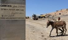 """""""الحمير""""... أداة الاحتلال في معركة السيطرة على أراضي الغور"""
