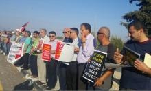 العشرات يتظاهرون أمام سجن مجدو نصرة لكايد