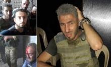 """فيديو: لحظة إصابة مراسلي """"الجزيرة"""" و""""أورينت"""" بقذائف النظام"""
