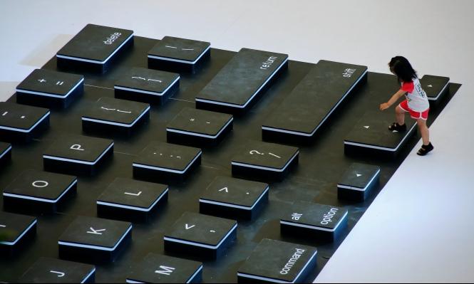 كيف نعثر على أشكال الحروف خارج لوحة المفاتبح؟