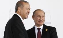 غزل إردوغاني متصاعد لبوتين: العزيز والمحترم والصديق