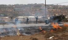 إصابات بجامعة أبو ديس والقصرة واقتلاع أشجار ببيت لحم