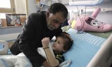 نقل الطفل أحمد دوابشة إلى المستشفى لتدهور بصحته