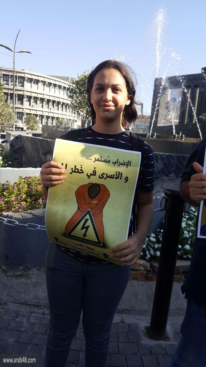 منع والدة الأسير كايد من الوصول لخيمة الاعتصام بالناصرة