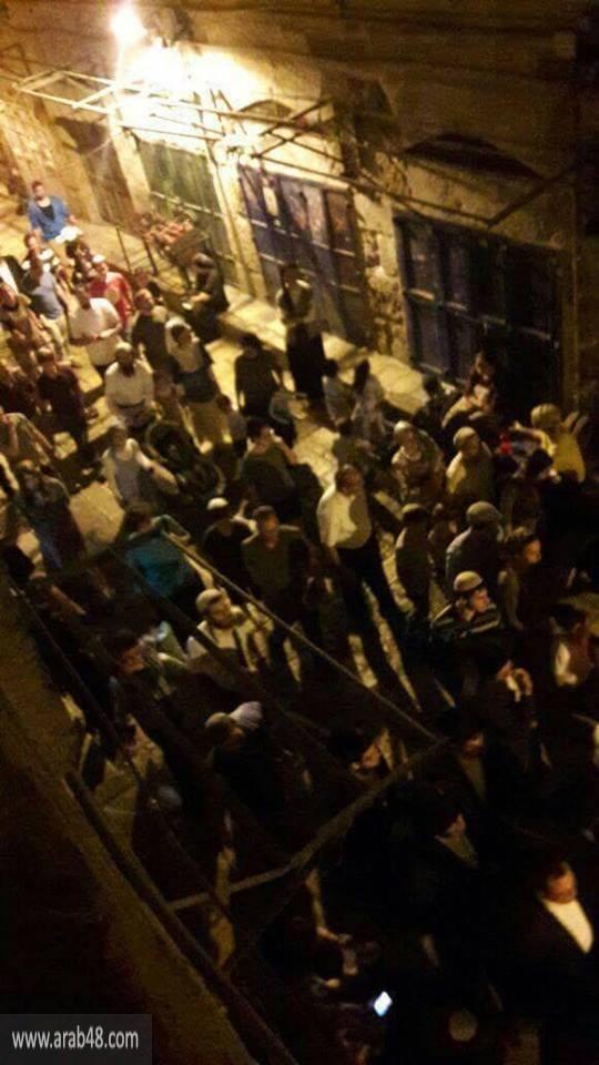 """ذكرى """"خراب الهيكل"""": المستوطنون يجتاحون القدس القديمة"""