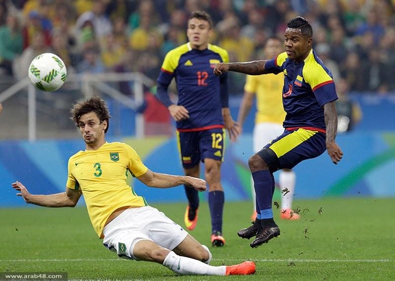 ريو 2016: البرازيل تهزم كولومبيا وتبلغ المربع الذهبي