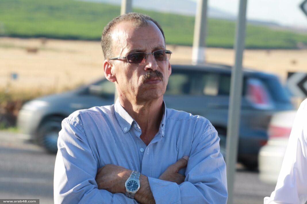 وقفة تضامنية مع الأسير كايد أمام سجن شطة