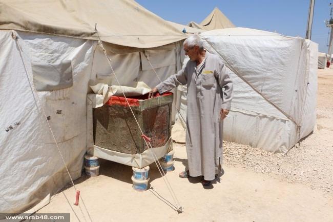 تركيا: سوريون يبتكرون مكيفات تنعش مخيمات اللجوء