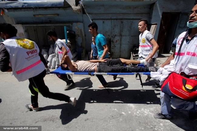 شهيد و60 إصابة بينها حرجة في مواجهات الفوار