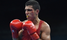 الملاكم المغربي محمد ربيعي يحصد الميدالية البرونزية