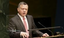 """وزير إسرائيلي: أقوال ملك الأردن """"ضريبة كلامية"""""""